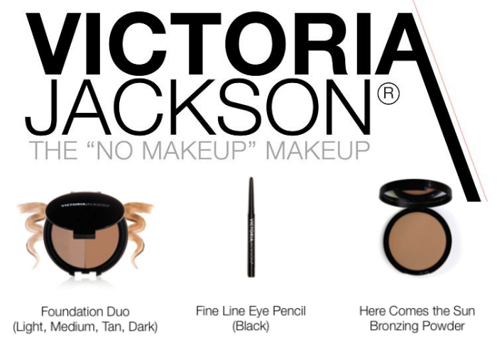 Giveaway: Win a Victoria Jackson Makeup Trio! The No Makeup Makeup