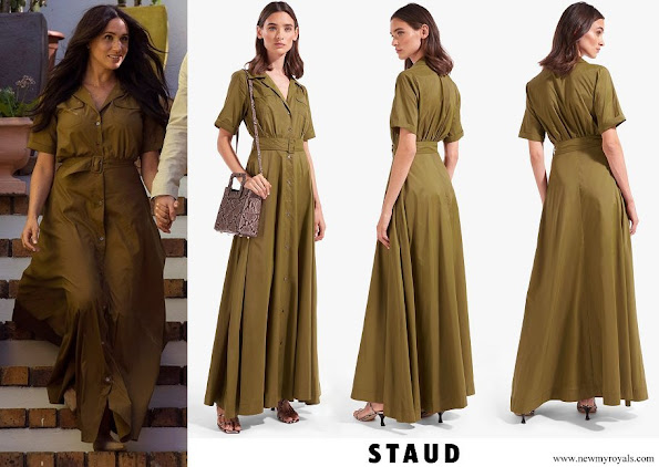 Meghan Markle wore Staud Millie Dress
