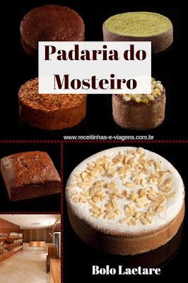 Bolos da padaria do Mosteiro de São Bento