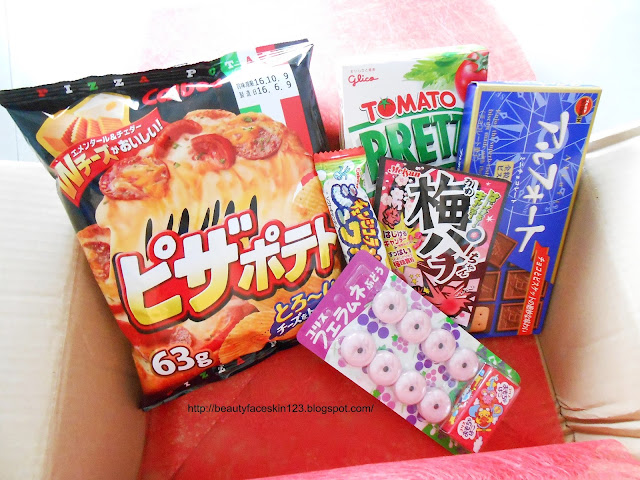 JAPAN FUNBOX JULY 2016-MONTHLY JAPAN SUBSCRIPTION BOX