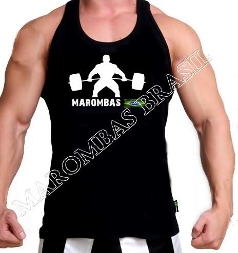 02ba2c592f MAROMBAS BRASIL  Camiseta regata para Malhar