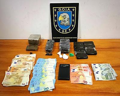Detenidos en campaña de operaciones antidroga en barrios de La Paterna y Lomo Los Frailes,  por Policía Local de Las Palmas de Gran Canaria