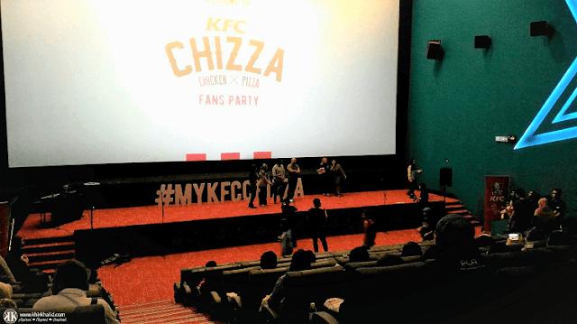 KFC Chizza, GSC NU Sentral, Pitch Perfect 3,