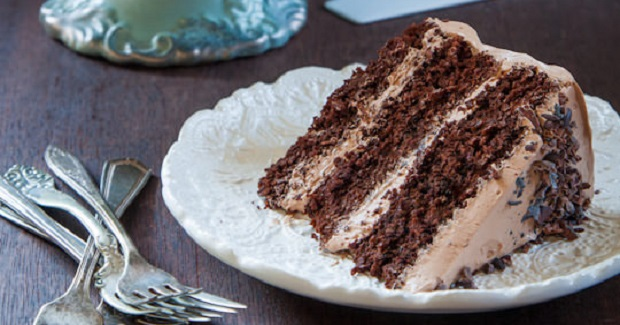 Classic Chocolate Cake With Chocolate Frosting Recipe