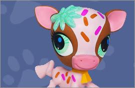 LPS Cow Figures