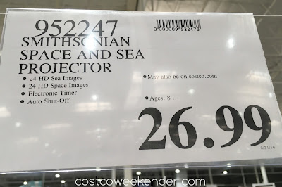 Deal for the Smithsonian Space and Sea Projector at Costco