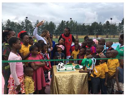 Kanu Nwankwo birthday celebration