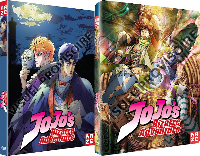 Phantom Blood, Battle Tendency, Jojo's Bizarre Adventure, Actu Japanime, Japanime, Kazé Anime,