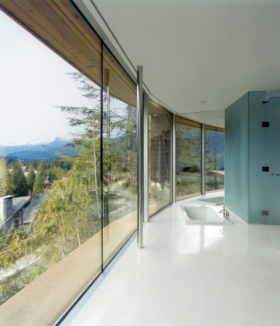 Beautiful Houses: Modern slope house design, Canada