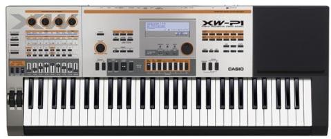 dan organ Casio XW-P1