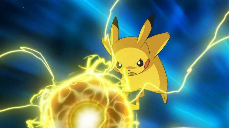 Pikachu Thunderbolt - Best Flash Games