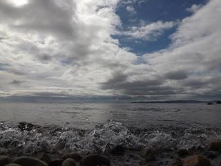 Blackwaterfoot és a tengervíz