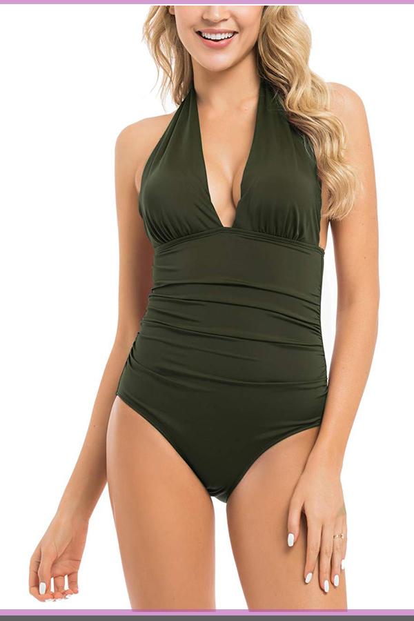1df3d28c3e4 One piece tummy control swimsuits