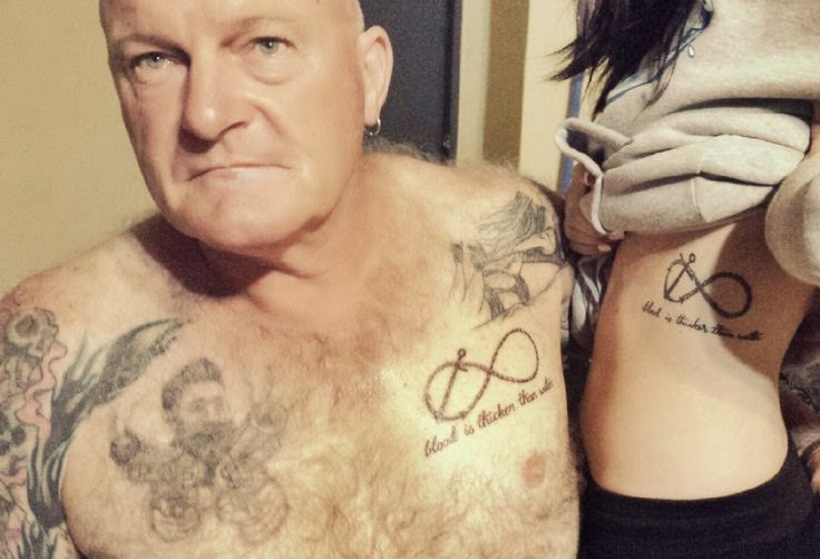 Matching Tattoo Ideas For Father And Daughter Kanjenk Tattoo