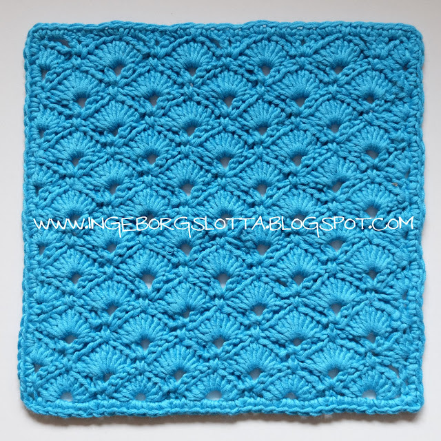 Virkad disktrasa - Crocheted dishcloth - Handmade in Finland,  virkattu tiskirätti, bamboo cotton yarn