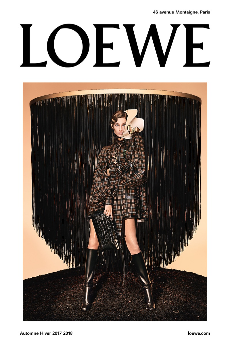 Gisele goes glamorous for Loewe Fall/Winter 2017 Campaign