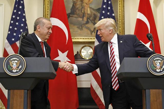 «Όχι σε όλα» είπε στον Ερντογάν ο Τραμπ με χαμόγελα κι ευγένεια
