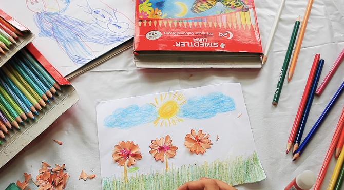 Bermain Dengan Pensil Warna Yuk Productive Mamas Blog