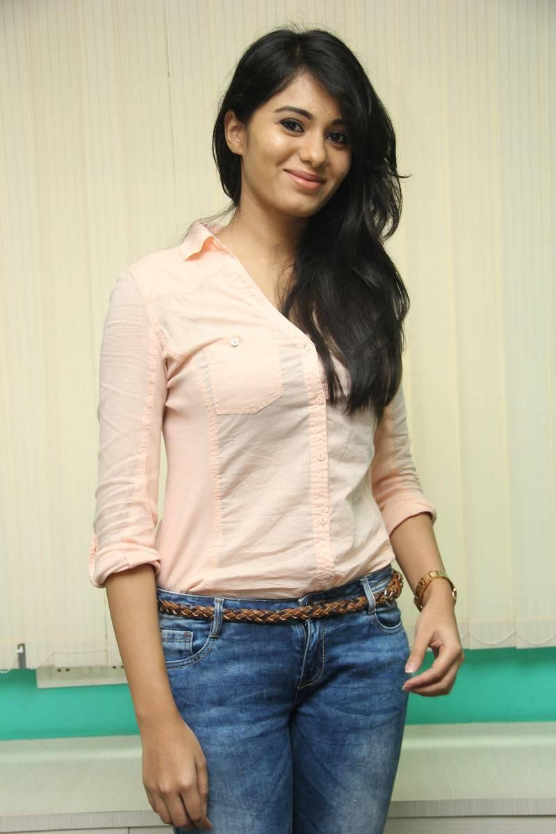 deepa sannidhi latest hot glamour shirt photoshoot images