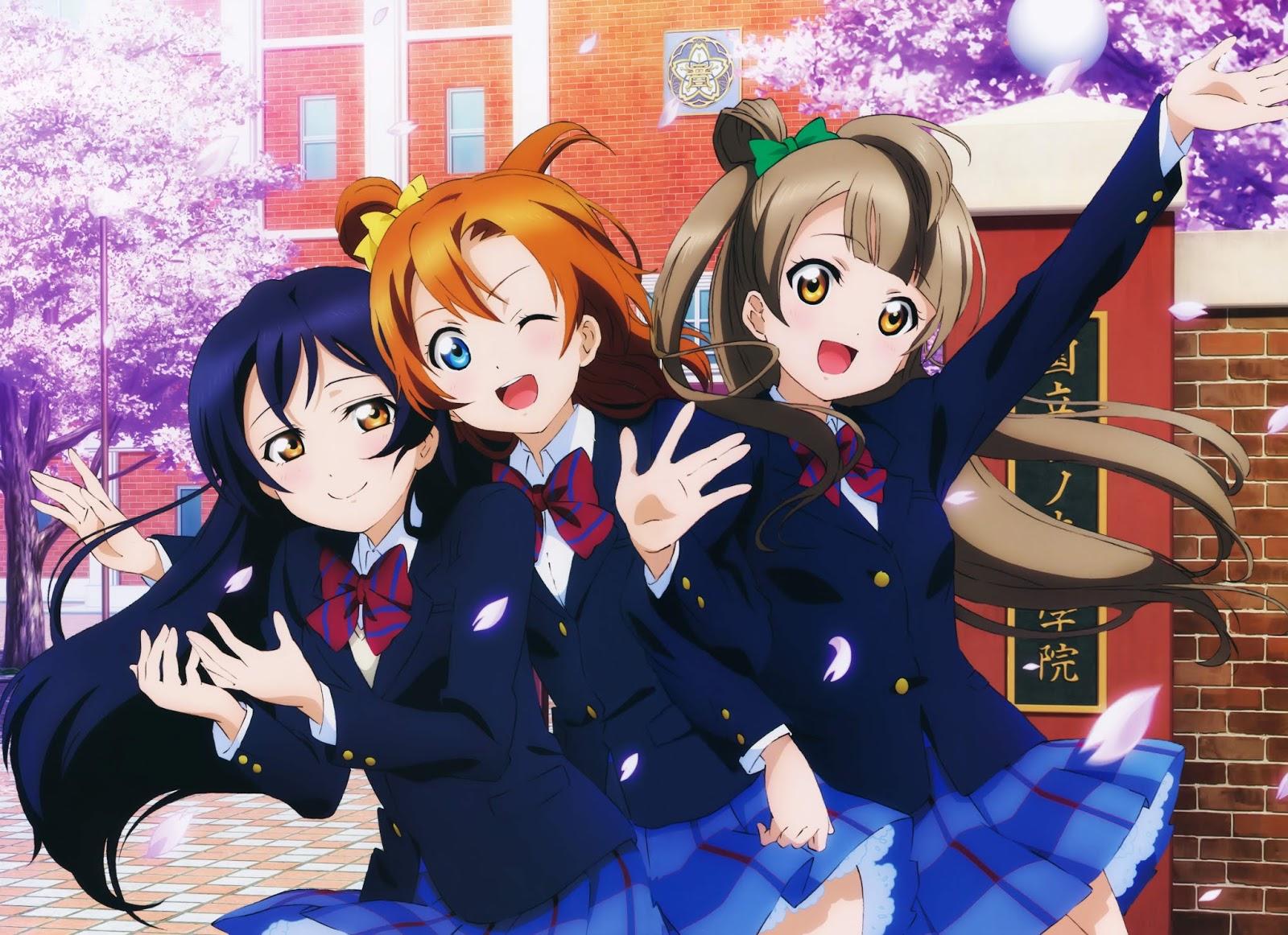 Wallpaper Anime Love Live Night Part 1