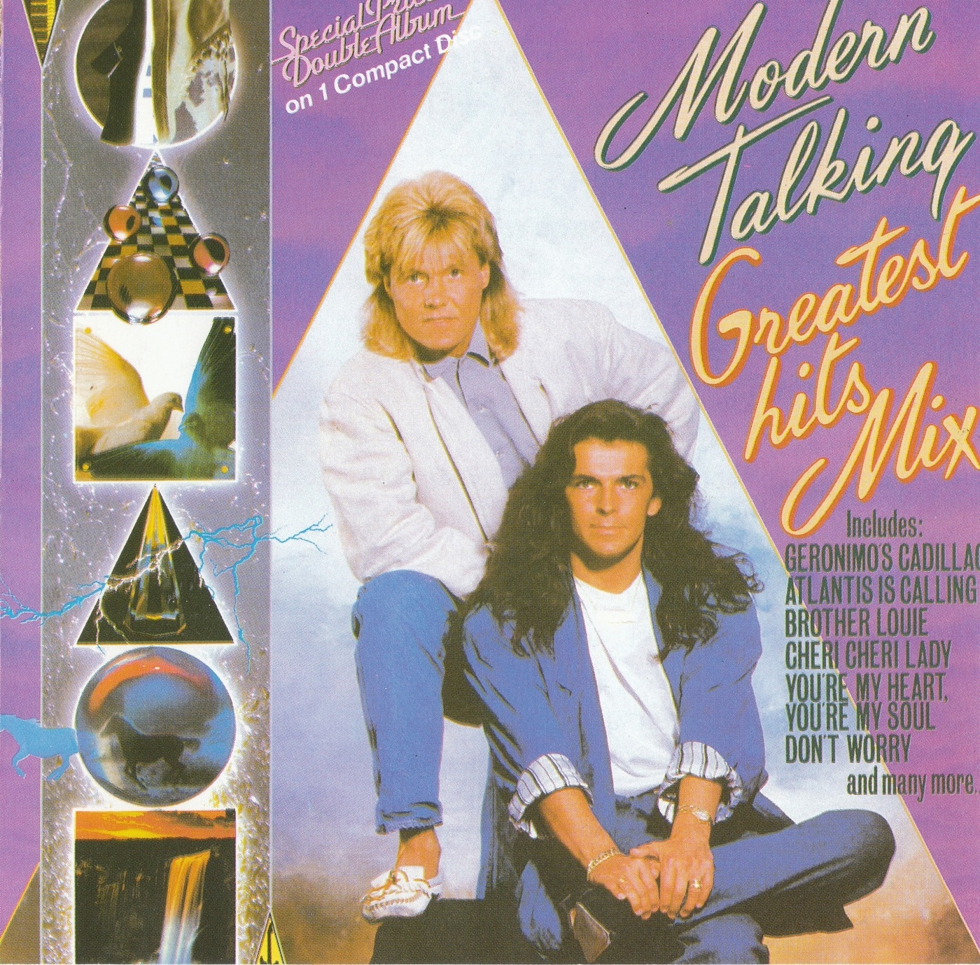 Dance vs house moderntalking greatest hits mix cd for 1988 dance hits