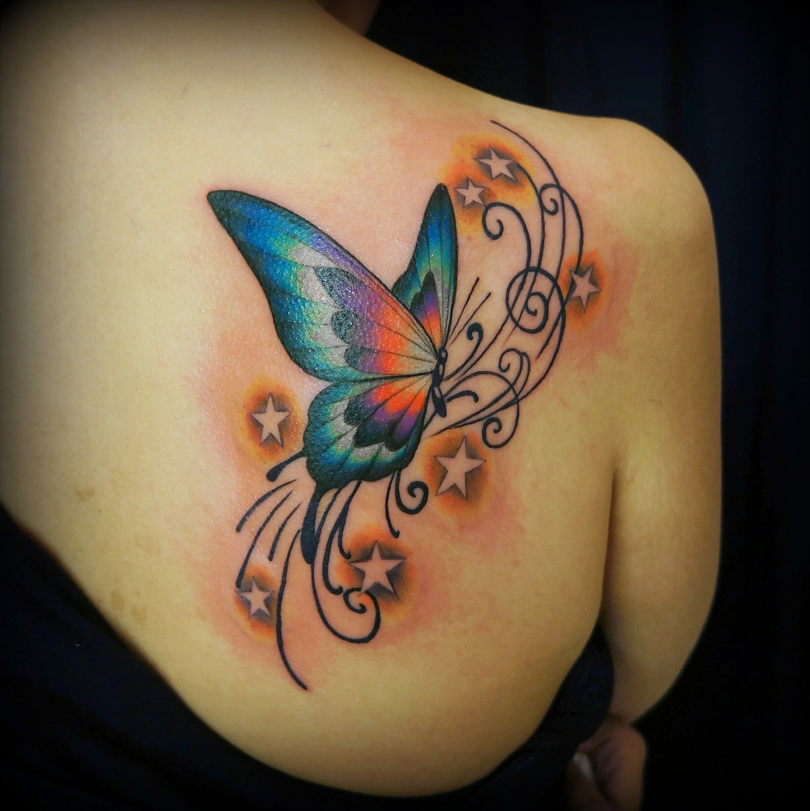 蝶 TATTOO butterfly