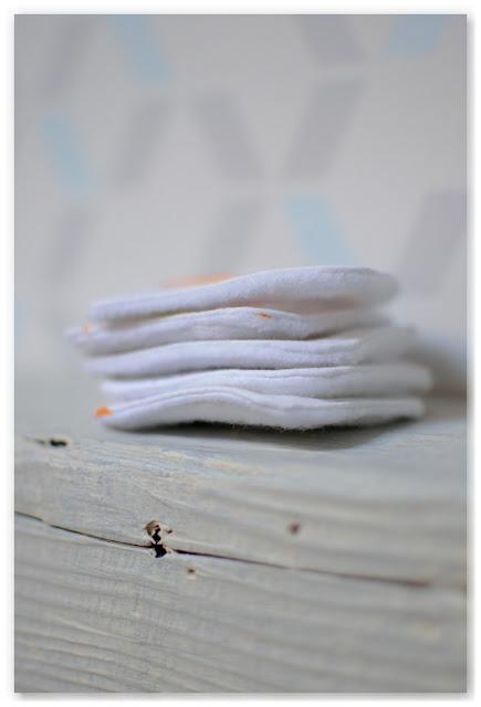 cotons lavables pour bébé