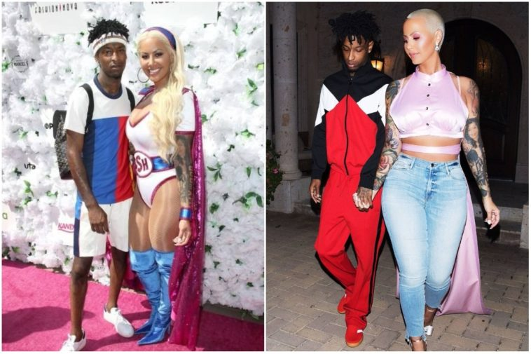 Amber Rose and 21 Savage split after almost 2 years of dating