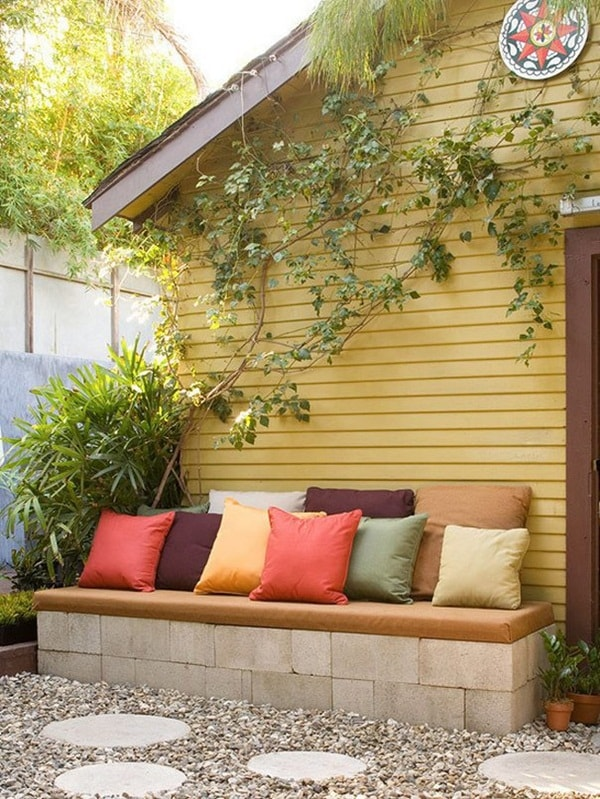 Concrete blocks for exterior decorating | lasthomedecor.com 7