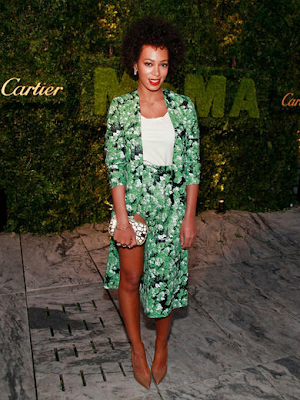 Solange -Knowles- Floral-Prints