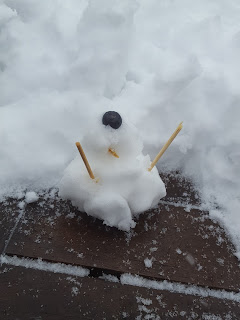 Dave the Cyclops Snowman