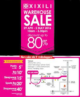 XIXILI Warehouse Sale