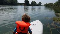 paddle en boatkite