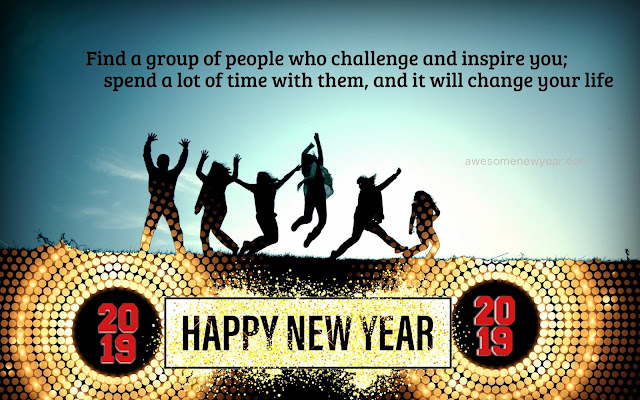Happy New Year 2019 Wishes For Friends