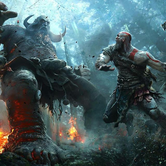 God of War Fight Wallpaper Engine