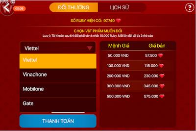 Tai iWin Online doi thuong