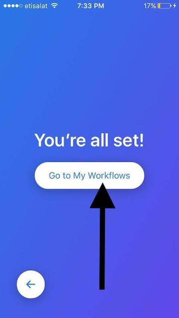 كيفية استخدام تطبيق Workflow في تحويل انيموجي Animoji الى GIF في ايفون X