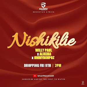 Download Audio | Willy Paul Ft. Alikiba & Ommy Dimpoz – Nishikilie