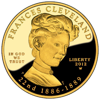 US Gold Coins Frances Cleveland First Term 10 Dollars First Spouse Gold Coin