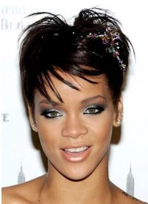 model gaya rambut wanita hitam tomboi 2008