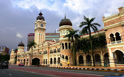 Sultan Abdul Samad Building in Kuala Lampur