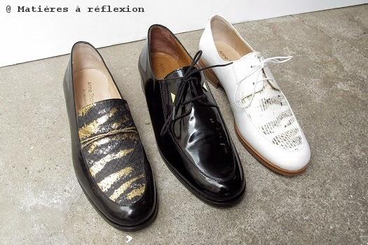 Chaussures Thomas MocassinsMatières Et À En Anne SoldeDerbies pqSzLMVUG