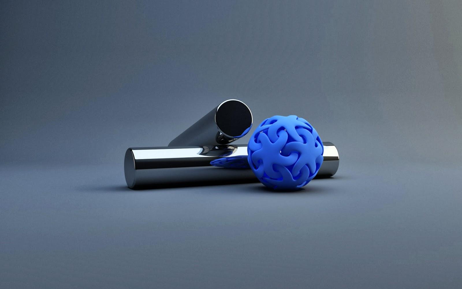 Fondo De Pantalla Abstracto Bolas Azules: Imagenes, Fondos De Pantallas Y Variedades : Fondo De