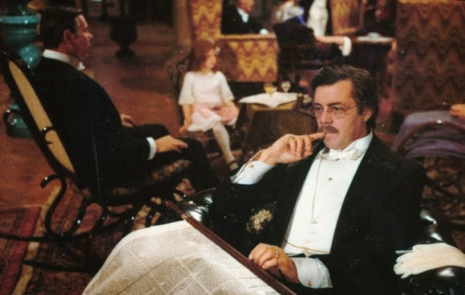 Dirk Bogarde as Gustav von Aschenbach, in Death in Venice, Directed by Luchino Visconti