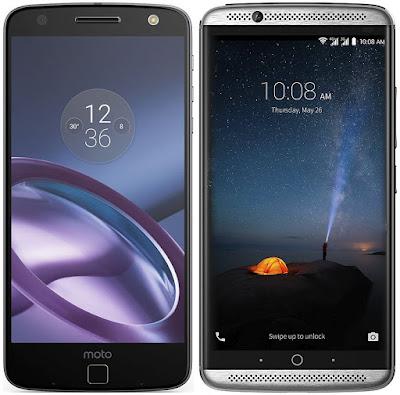 Motorola Moto Z vs ZTE Axon 7