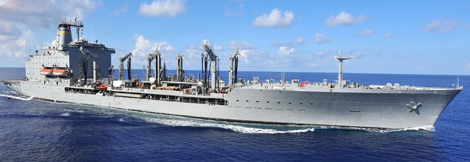 США почали будівництво другого заправника типу John Lewis