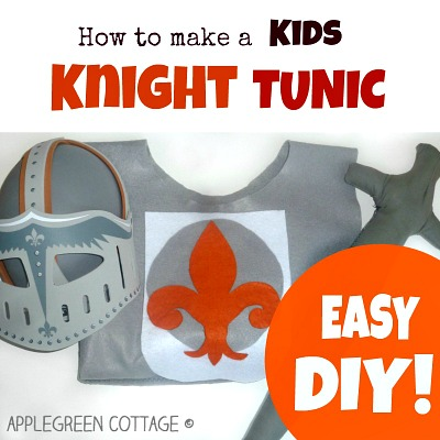 Easy DIY Kids Knight Costume Tutorial