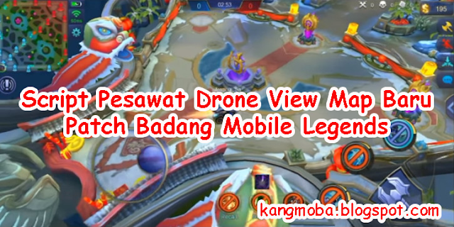 Script Drone View Pesawat Support Map Baru