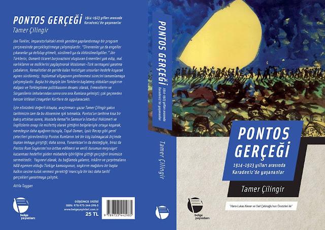 Ένα νέο βιβλίο για τη Γενοκτονία των Ελλήνων του Πόντου στα Τουρκικά