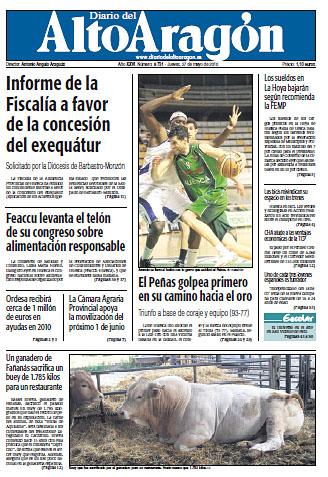 Un ganadero de Fañanás sacrifica un buey de 1.785 kilos para un restaurante